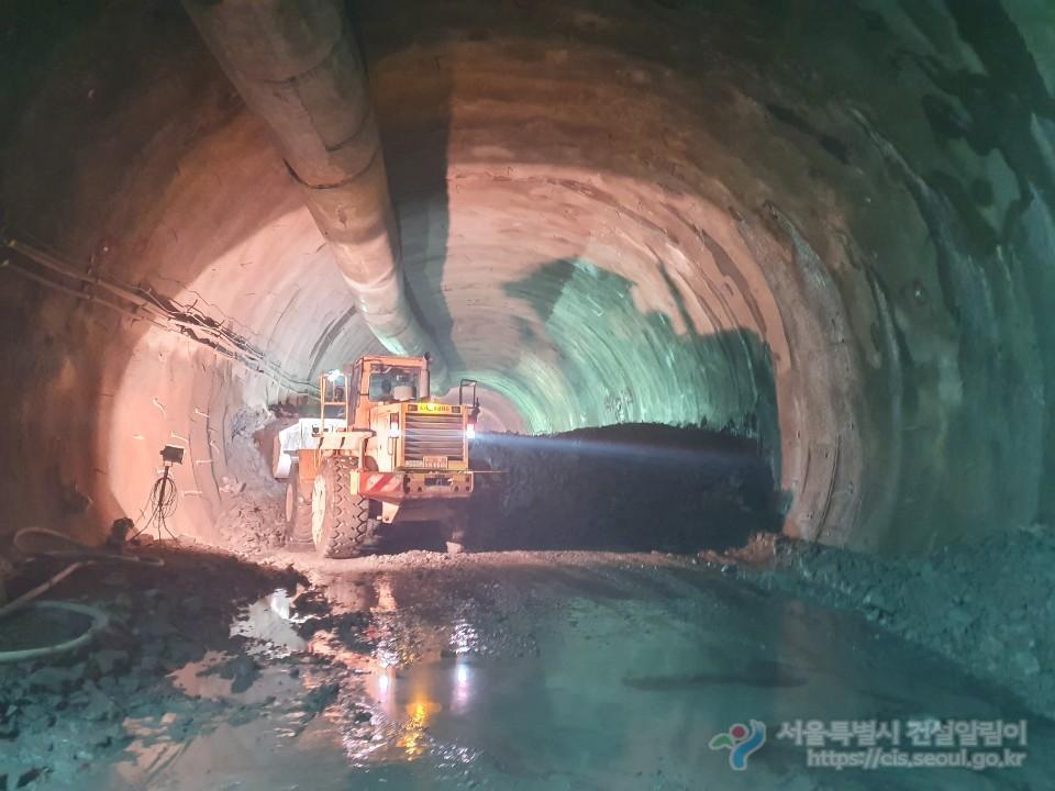 터널1구간 굴착