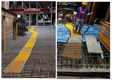 서울제물포터널 민간투자사업(2공구) 건설공사 안전점검일자  2017-09-13 모범유형 가설통로 안전 외 1건